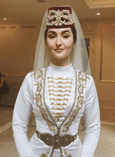 осетинский свадебный наряд