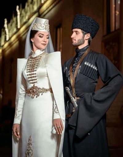 осетинская свадьба невеста