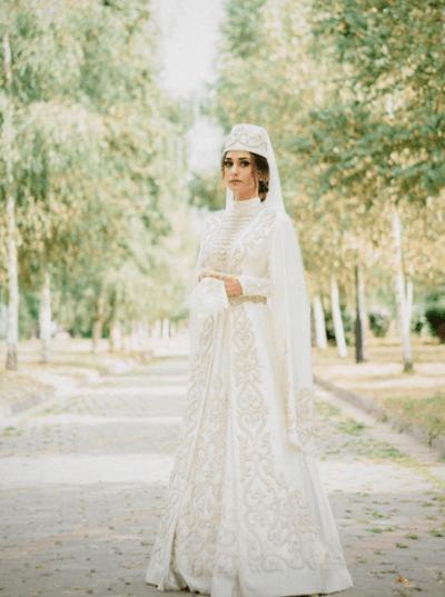 осетинские свадебные платья фото