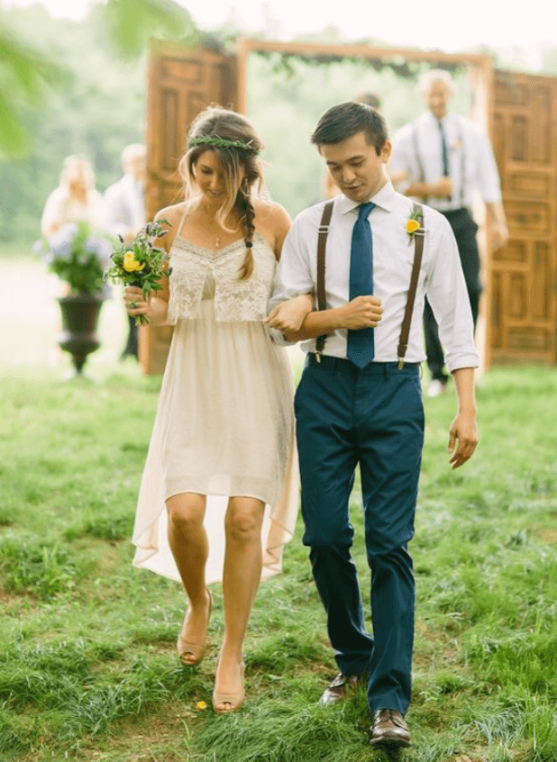 свадебное платье на роспись