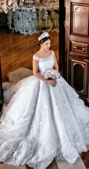 платье кекс свадебное