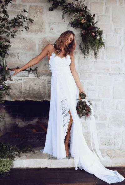 свадебные платья лето