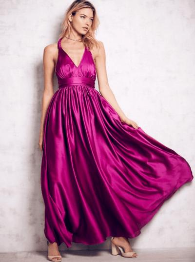 платье подружки невесты розовое