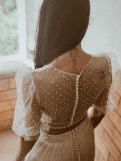 свадебные платья с длинным рукавом фото