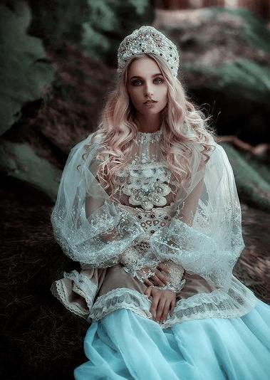 свадебный наряд русского народа