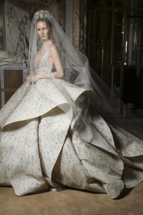 пышные свадебные платья с рукавами фото