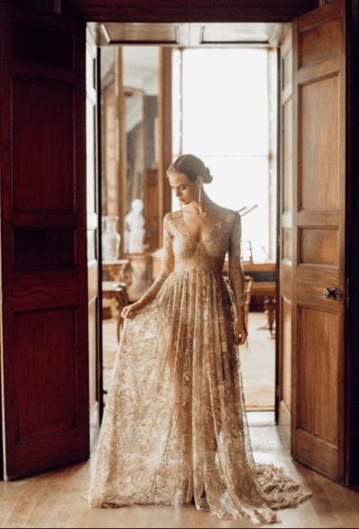 сексуальное платье невесты