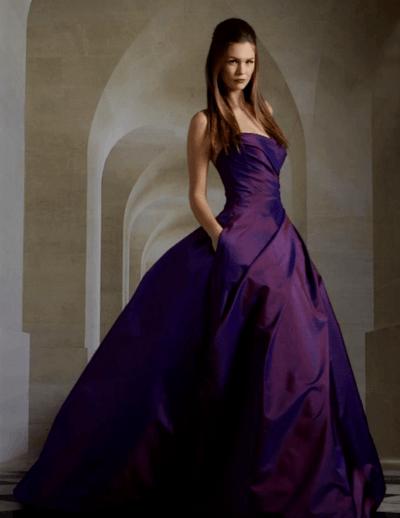 сиреневое платье на свадьбу