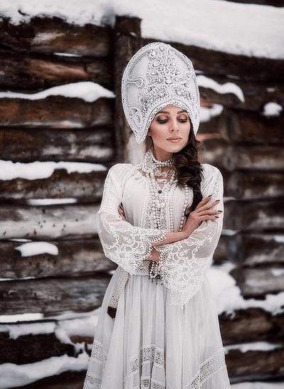 русский народный свадебный наряд