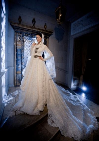 красивые чеченские свадебные платья