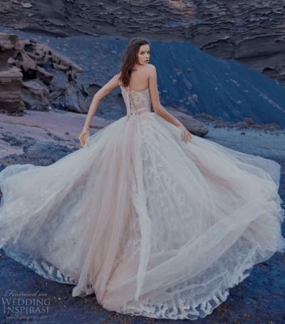 свадебное платье пышное с корсетом