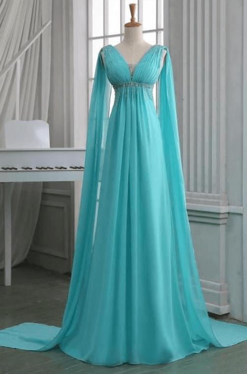 свадебное платье бирюза