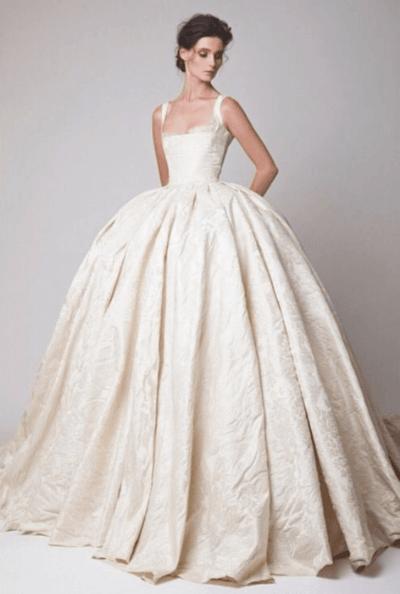 свадебное платье кексы