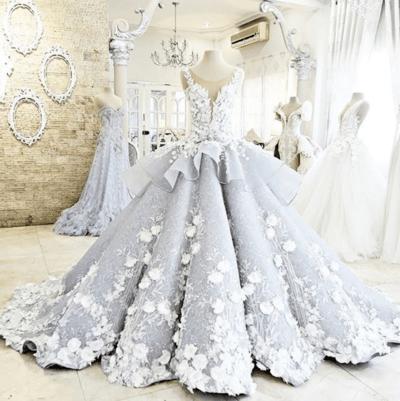 свадебные платья трубы