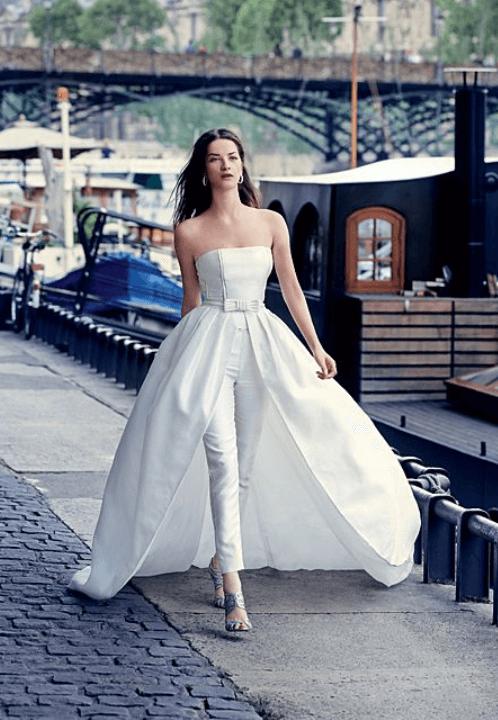 свадебный наряд невесты без торжества