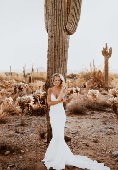 свадебные платья с баской на талии