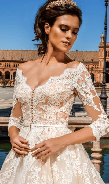 свадебное платье без корсета