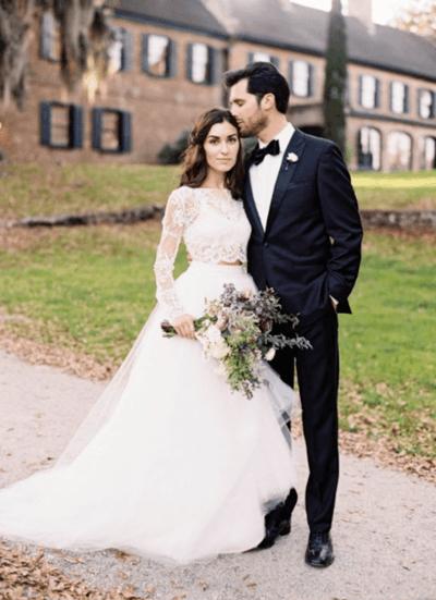 свадебное платье топ и юбка отдельно