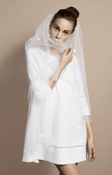 свадебное платье 50 х годов
