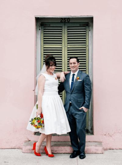 свадебное платье 50 годов