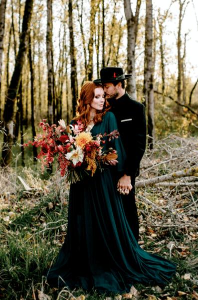 зеленые платья для подружек невесты