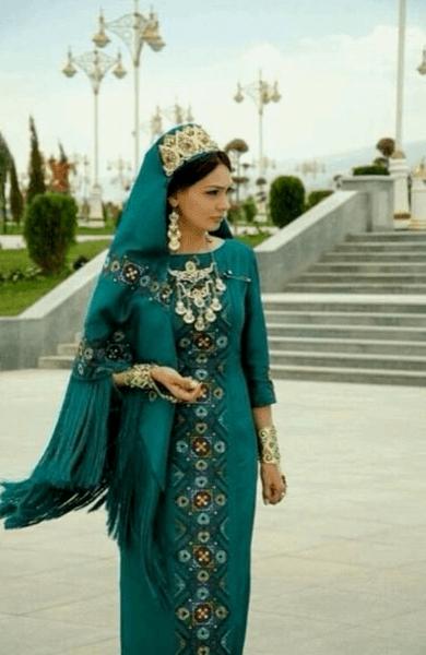 татарское свадебные платья