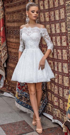 свадебные платья маленьких размеров
