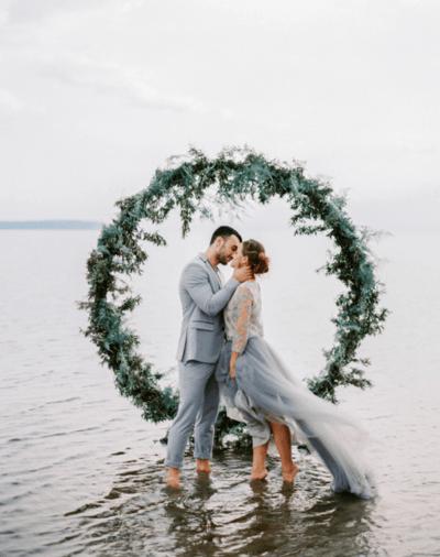 свадебное платье для свадьбы на море