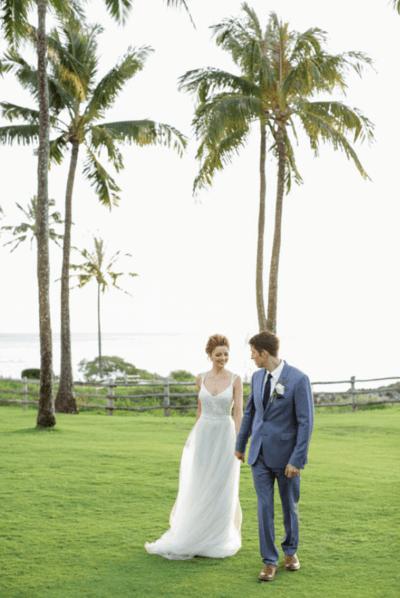 легкие свадебные платья для моря