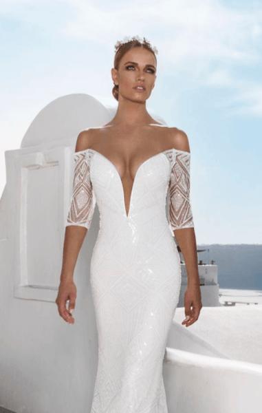 свадебные платья в обтяжку