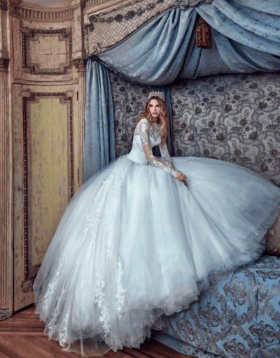 свадебные платья принцесс фото