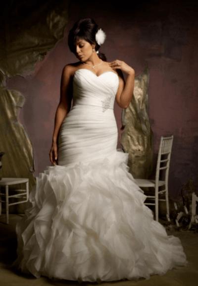свадебные платья 48 50 размер