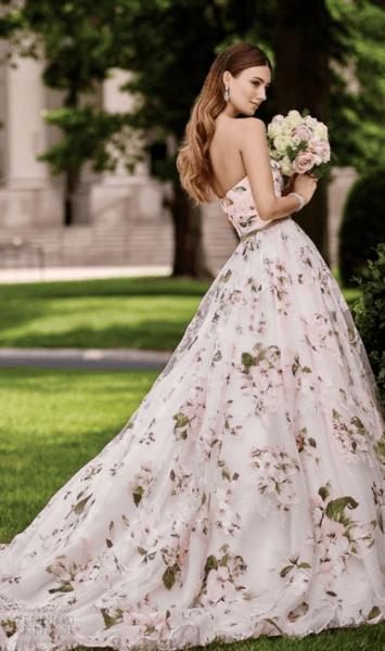 свадебное платье бледно розовое