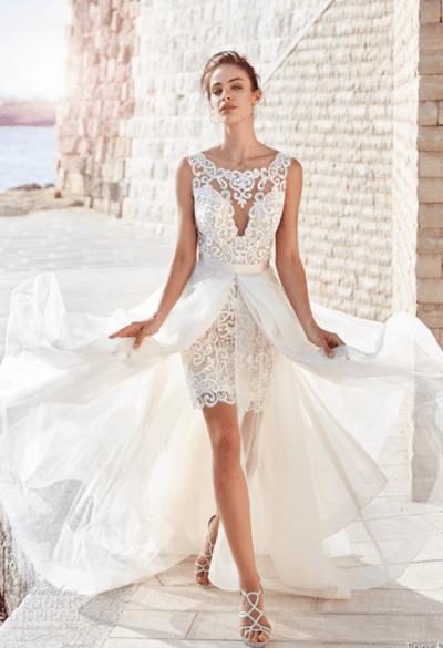 свадебные платья без кружева