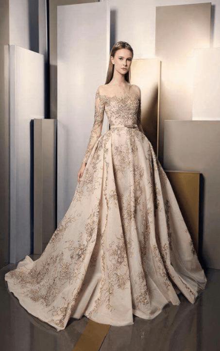 свадебные платья фото кружевные пышные