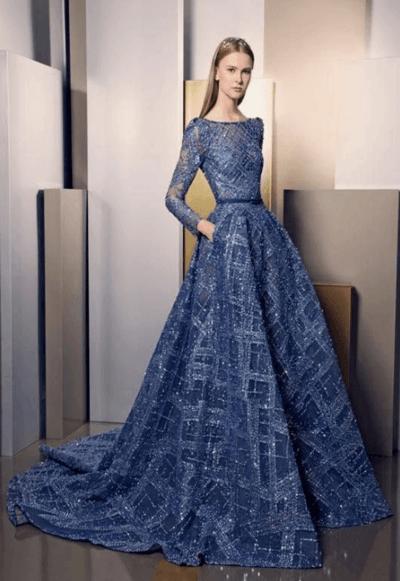 синие платья на свадьбу к подруге