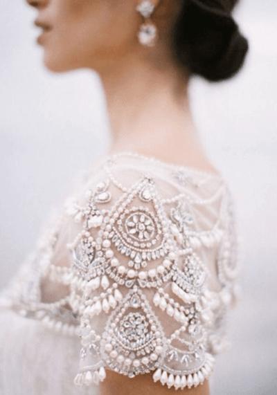 фото пышных свадебных платьев со стразами