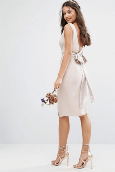 свадебные платья до колена фото