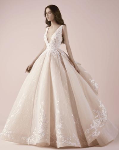 свадебное платье трубы