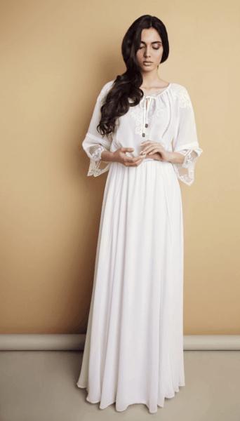 русский свадебный наряд невесты