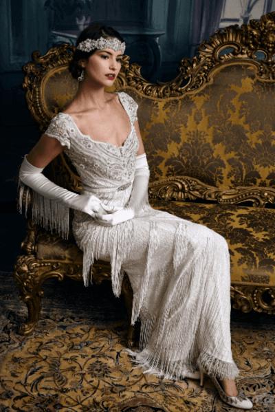 свадебные платья в стиле винтаж