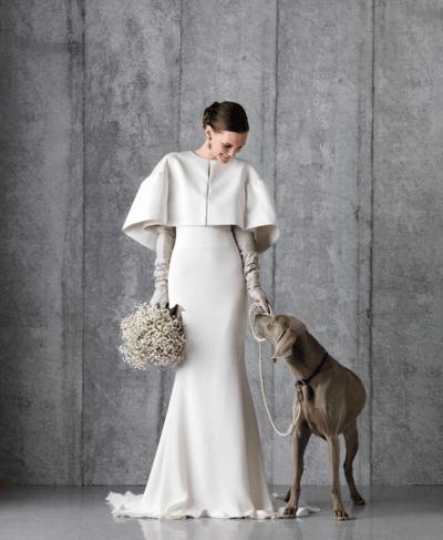 ccc4be25ef9523e Свадебные зимние платья для невесты - фото