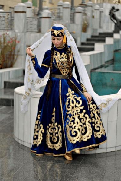 татарские свадебные платья