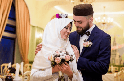 свадебное татарское платье