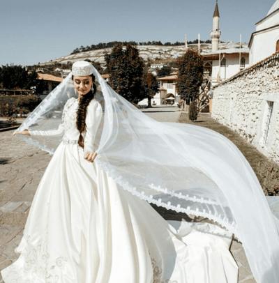 свадебный наряд татарских народов