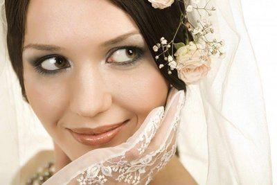 макияж свадебный для зеленых глаз фото