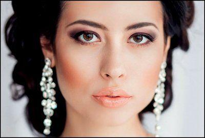 свадебный макияж глаз пошагово