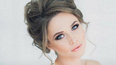 модный свадебный макияж