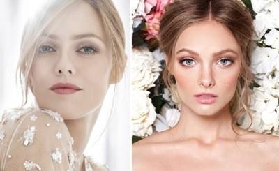 фото свадебная модная макияж
