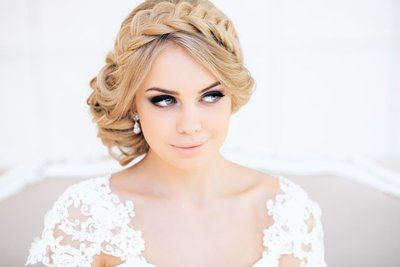 свадебный макияж фото для блондинок